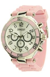 Horloge Ernest - Roze