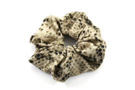 Scrunchie  snake - Naturel camel