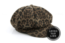 Cap/pet leopard