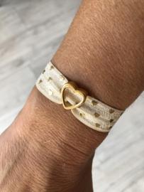 Elastische armband - HART