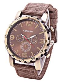Horloge - Bruin