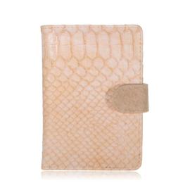 Paspoort hoesje Croco zalm