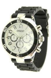 Ernest horloge - Zwart