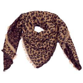Sjaal 'Leopard Life'