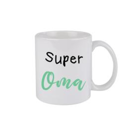 Super oma - groen