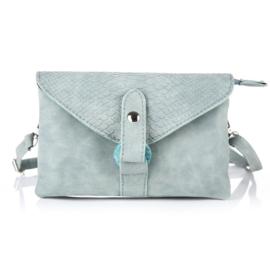Heup/schoudertasje - Blauw/groen