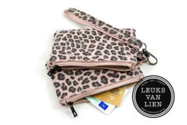 Portemonnee Mauritius Leopard dubbel