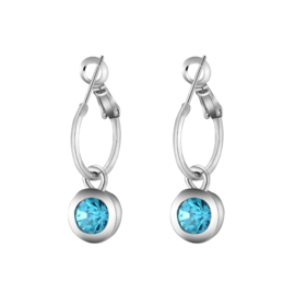 Oorbellen Chic Sparkle - Blauw