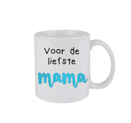 Liefste mama - turquoise