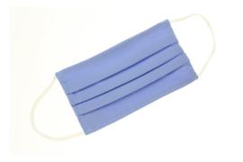 Mondkapje - IJsblauw
