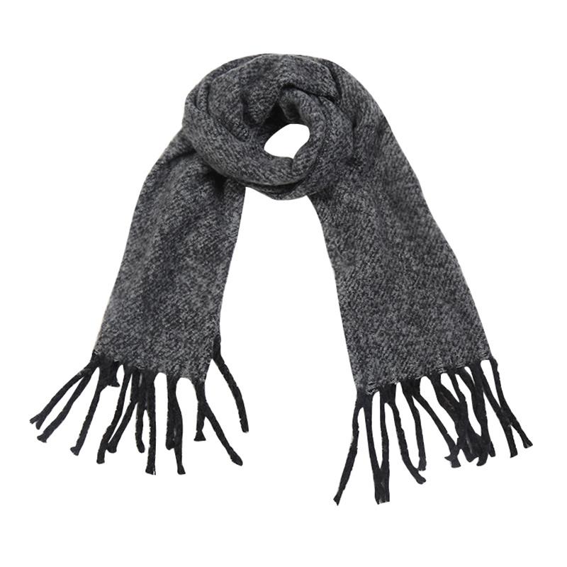 Sjaal soft fall - Grijs