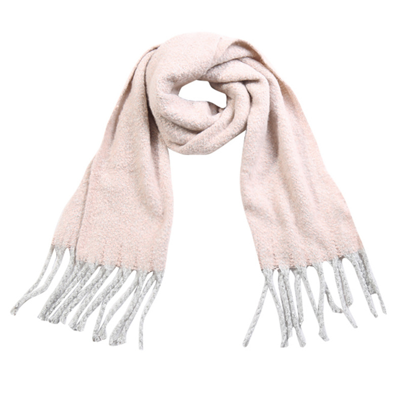 Sjaal soft fall - Roze
