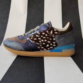 Sneakers Philippe Model. Mt. 36. Diverse materialen.