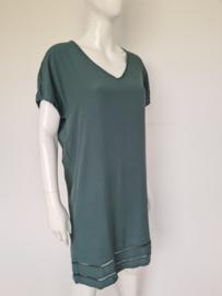 Circle of Trust Boho Beach dress. Mt. L. Soft green.