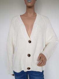 Vest Selected Femme. Mt. L. Crème/gebreid.