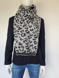 Catwalk Junkie shawl. Grijs/zwart.