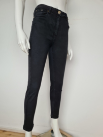 Elisabetta Franchi skinny jeans. Mt. 29. Zwart.