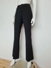 Zwarte pantalon. Mt. 2. Zuiver scheerwol.