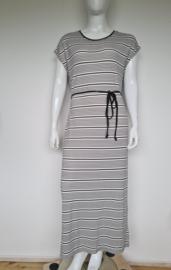 Street One maxi dress. Mt. 42. Gestreept.