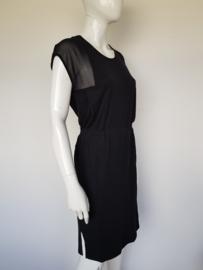 La Fée Maraboutée jurk. Mt. 3. Zwart/lyocell.