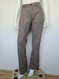 Hugo Boss jeans regular fit. Mt. 36/34. Lichtbruin.