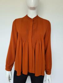 Deby  Debo blouse. Mt. S. Roestbruin.