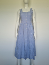 Tommy Hilfiger jurk. Mt. 36. Blauw/wit gestreept.
