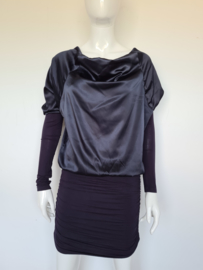 Jacky Luxury jurk. Mt. M. Donkerblauw.