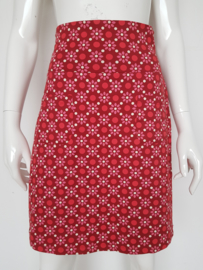 Tante Betsy rok. Mt. S. Rood/roze/print.
