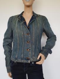 Spijkerjasje DKNY. Chang jacket. Mt. M. Blauw.