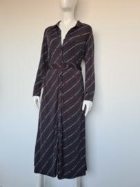 K-Design maxi dress. Mt. 36. Grijs/print.