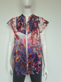 Otracosa blouse. Mt. S/M. All over print.