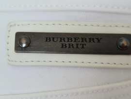 Burberry Brit skinny jeans style Kensington. Mt. 26. Wit.