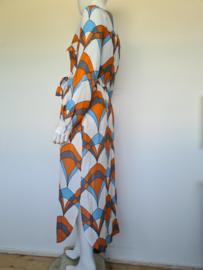 Essentiel Antwerp maxi dress. Mt. 40. All over print.