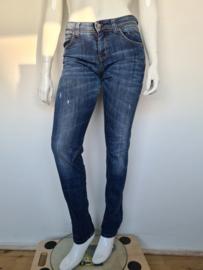 MAC Boyfriend jeans. Mt. 40/32. Blauw.