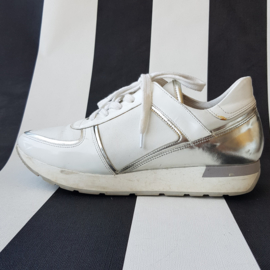 Sneakers HIP Shoe Style. Mt. 39. Wit/zilver.