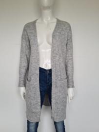 Selected Femme vest. Mt. XS. Lichtgrijs/wol.