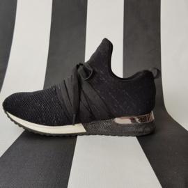 La Strada sneakers. Mt. 37. Zwart