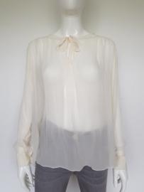 Vanilia Classics blouse. Mt. L. Crème/voile.