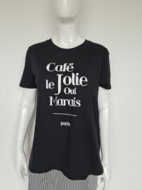 Madness t-shirt. Mt. XL. Zwart/print.