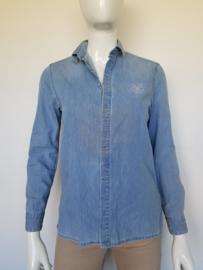 Denim blouse Kenzo. Mt. 34. Lichtblauw.