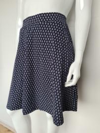 King Louie Sofia skirt. Mt. L. Blauw/anker print.