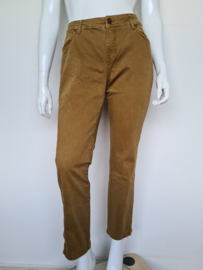 Claudia Sträter jeans. Mt. 44. Okergeel.
