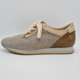 Cellini sneakers. Mt. 38. Goud/bruin.