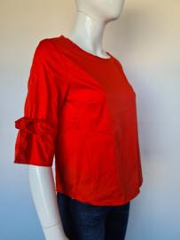 Opus blouse top. Mt. 38. Roze/ zijdelook.