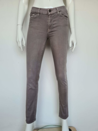 7 For All Mankind skinny jeans. Mt. 29. Grijs.