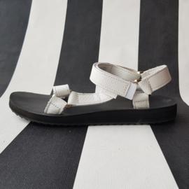 Leren Teva sandalen. Mt. 40. Wit