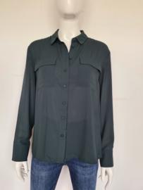 Warehouse blouse. Mt. 12. Donkergroen.