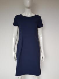 Luisa Cerano jurk. Mt. 40. Donkerblauw.