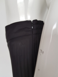 Plissé pantalon Bandolera. Mt. 40. Zwart.